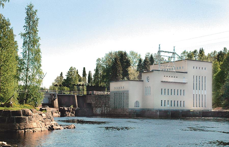 Kainuun Voima Oy vastaa Kajaaninjoen vesivoiman tuotannosta laitoksillaan.