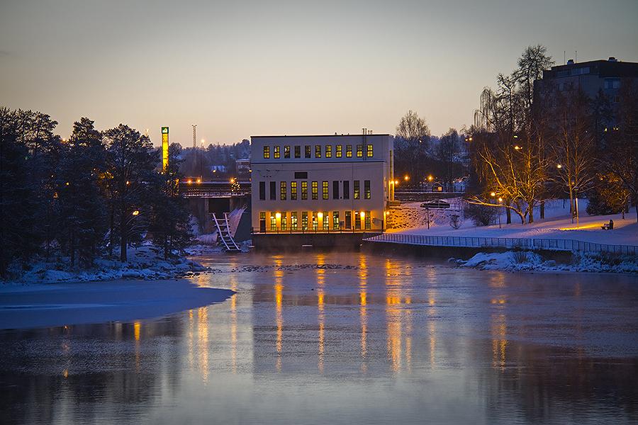 Koivukoski I-II vesivoimalaitos on rakennettu vuonna 1943.
